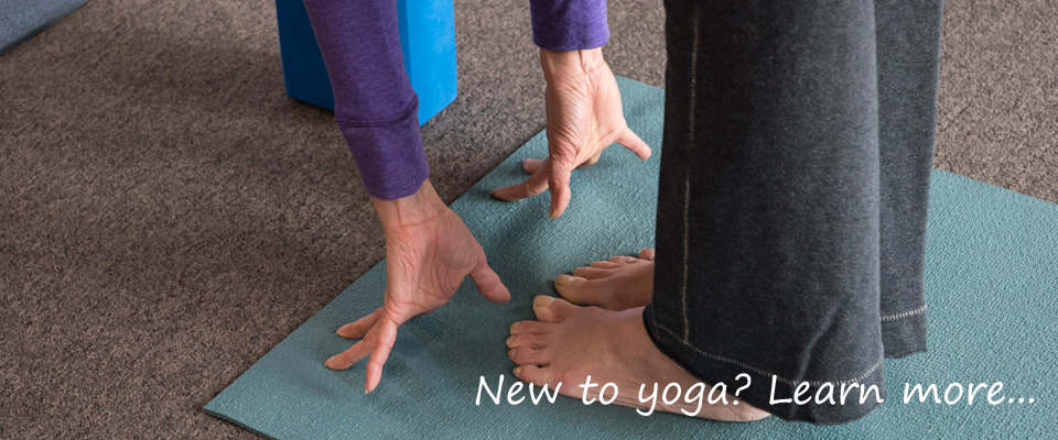 New to Yoga? Learn more here.