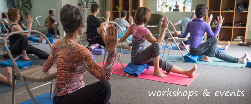 Workshops and Events with Downtown Yoga