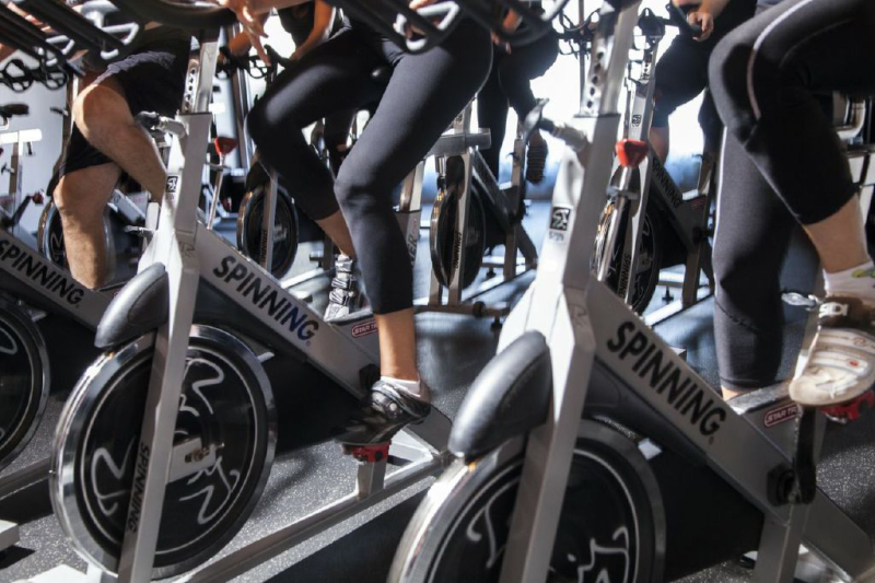 Spinning Classes at Blazing Saddles Indoor Cycling in Sherman Oaks, CA