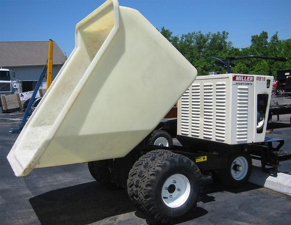 Cement Buggy, 16 Cubic Ft