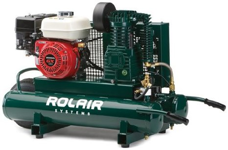 rol air 5hp air compressor