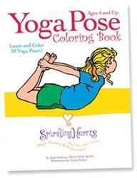 Yoga Pose Coloring Book