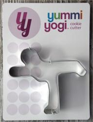 Yummy Yogi Cookie Cutter-Warrior 3 Pose