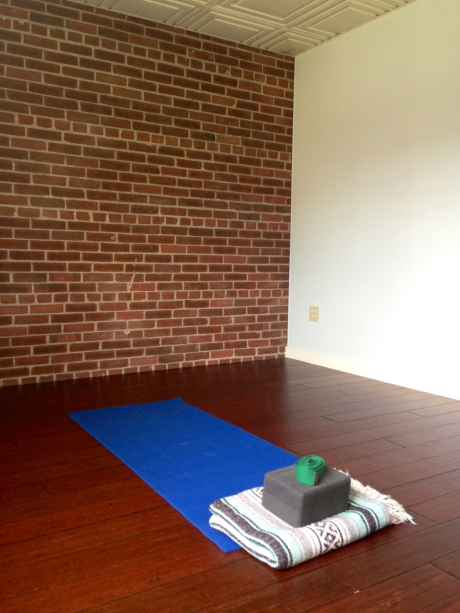 Private Yoga Instruction Room at Coolidge Yoga
