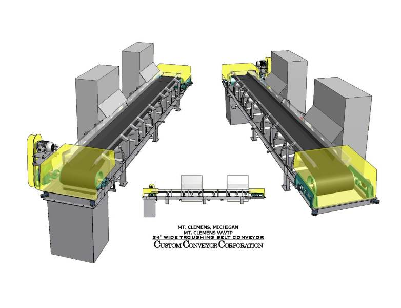 Conveyor is widely utilized in beneficiation