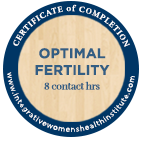 Optimal Fertility Certificate of Completion