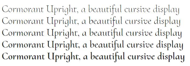 Display Typefaces: 13 Google Fonts with a Ton of Personality