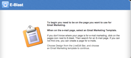 LiveEdit email marketing