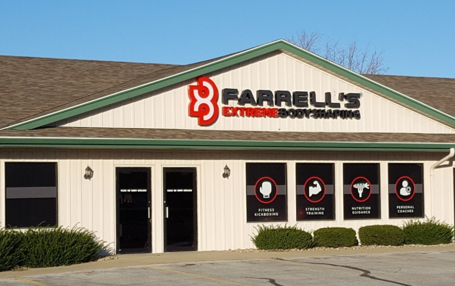 Storefront of Farrell's Urbandale