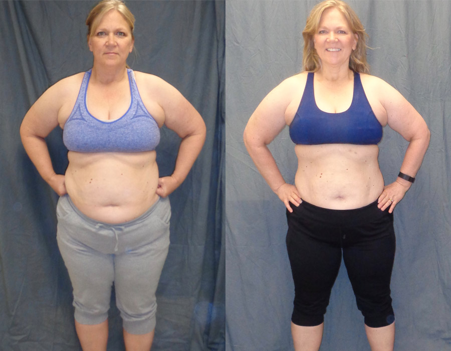 Kim H; 10-Week Fitness Challenge Winner