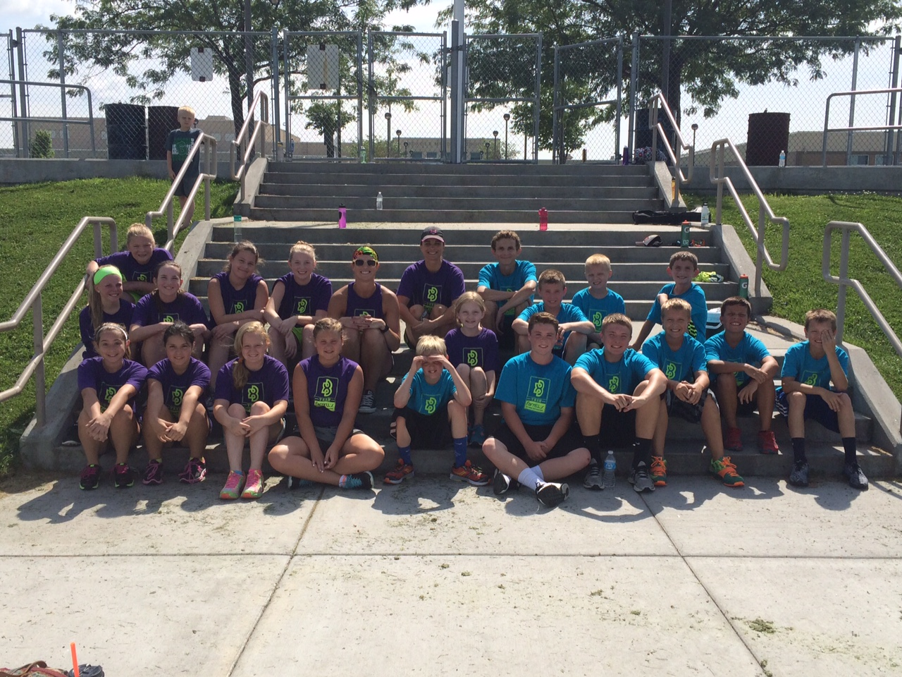 Teen Fitness Challenge at Farrell's Omaha R Plaza