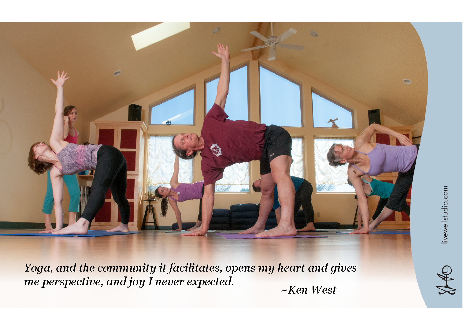 Corvallis Yoga Live Well Studio Ken West