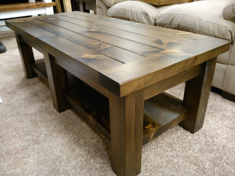 We Use The Same Furniture Grade Pine Lumber For These Tables As Do Our Dining And Benches