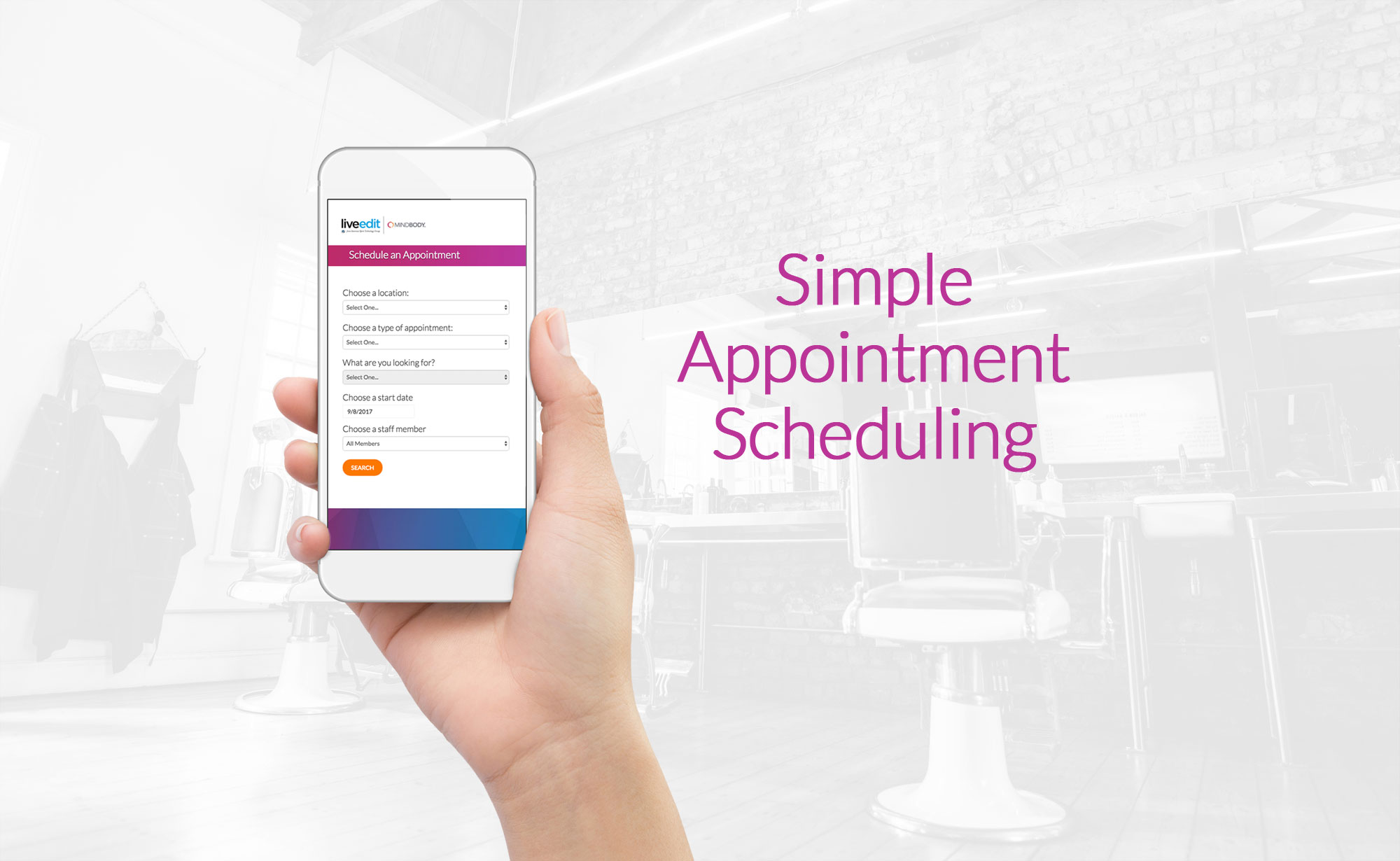 Easily Display MINDBODY Appointments