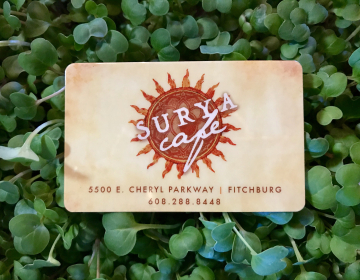 Suray Cafe Business Card
