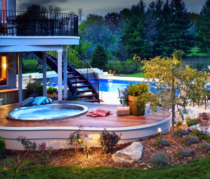 Custom Pools Gallery Pps In Oakdale Mn