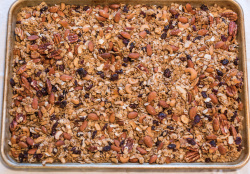 Pan of Granola