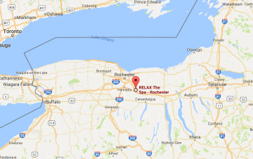 Rochester's Best Spa is RELAX The Spa in Victor NY | Easy access from Route 90 or 490
