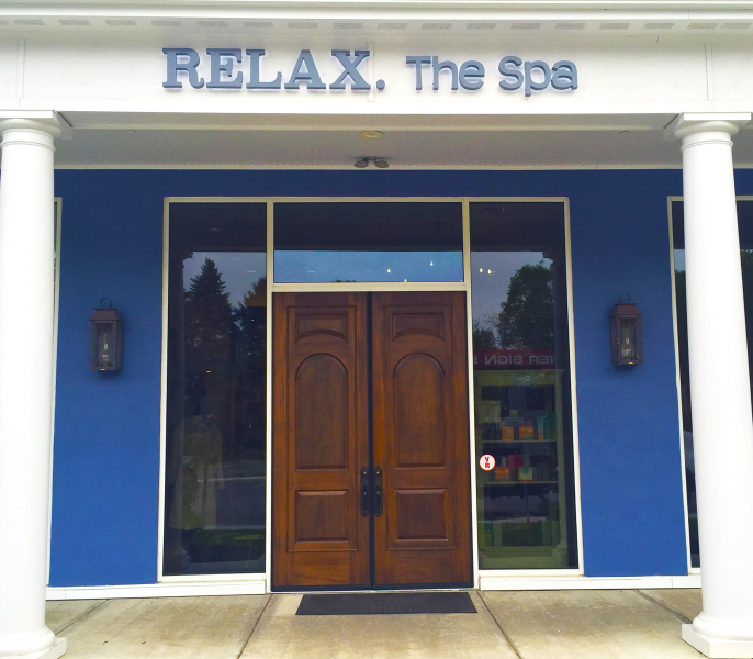 Relax The Spa Rochester building in Victor NY