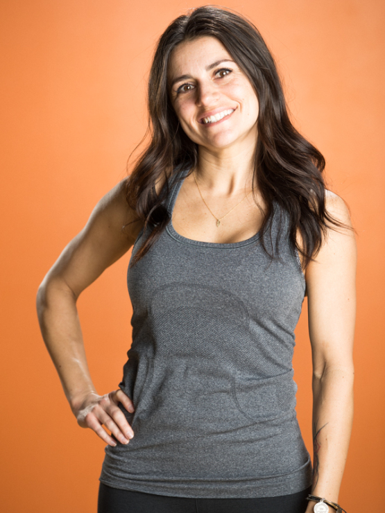 Jen Reuben, Co-Owner and Yoga Teacher at Salt Lake Power Yoga