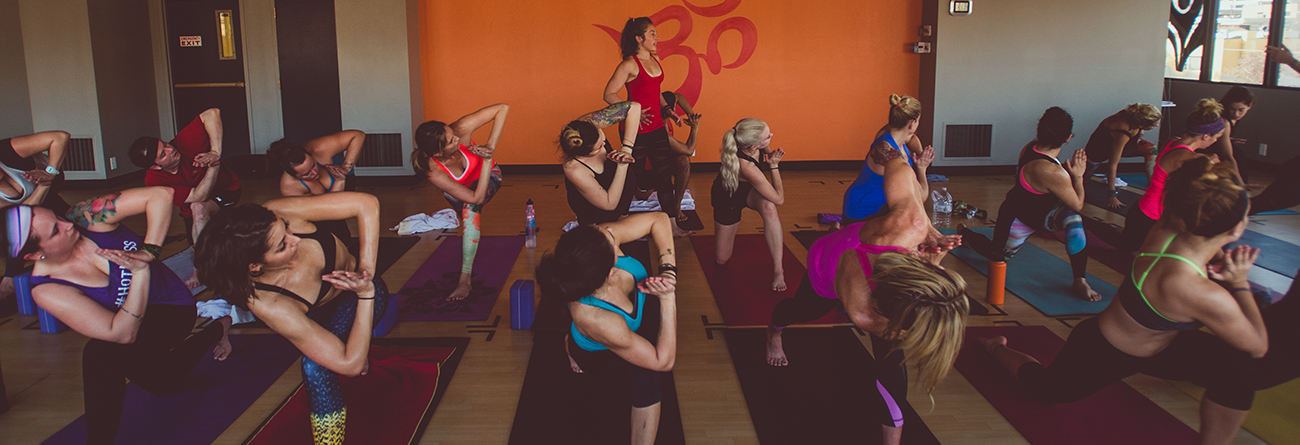 A Yoga Class at Salt Lake Power Yoga