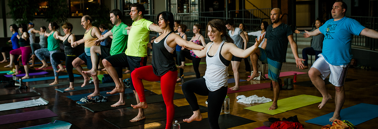 Yoga Classes in Session at Salt Lake Power Yoga