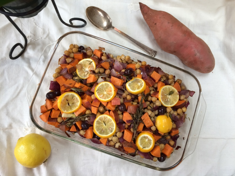Make Friends with Fiber + Chickpea Sweet Potato Extravaganza