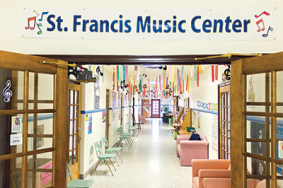 St. Francis Music Center Building