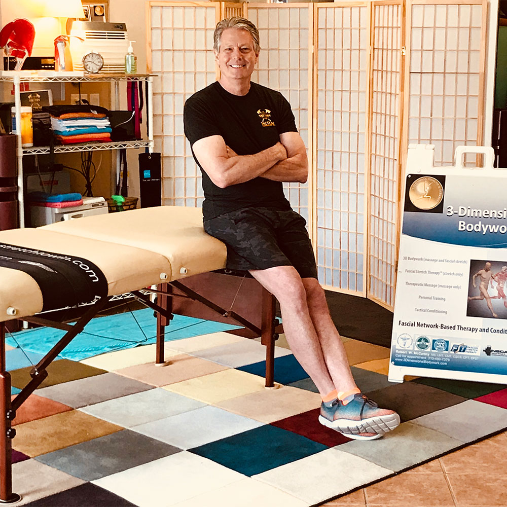 Robert McCarthy at Somatherapy Institute School of Massage