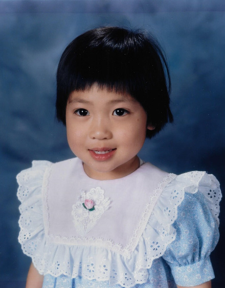 Aileen as a child