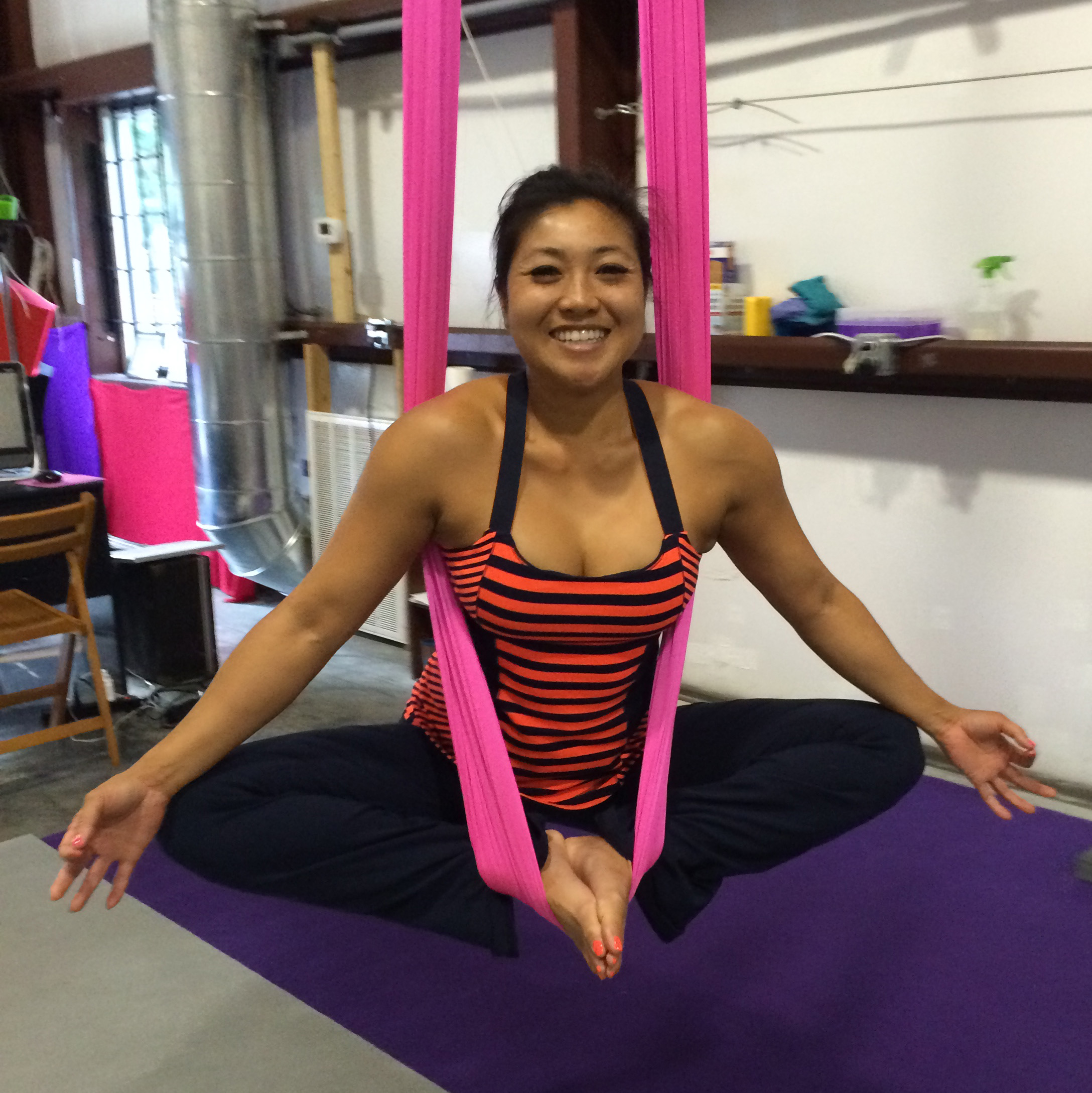 Aerial Yoga at Spectra Yoga