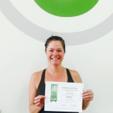 Laurie Flood, Studio 6 Fitness Century Club Member