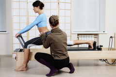 Private Fitness Consultation - pilaets instruction on reformer