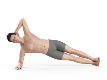 Healthy Shoulder Program - Side Planks