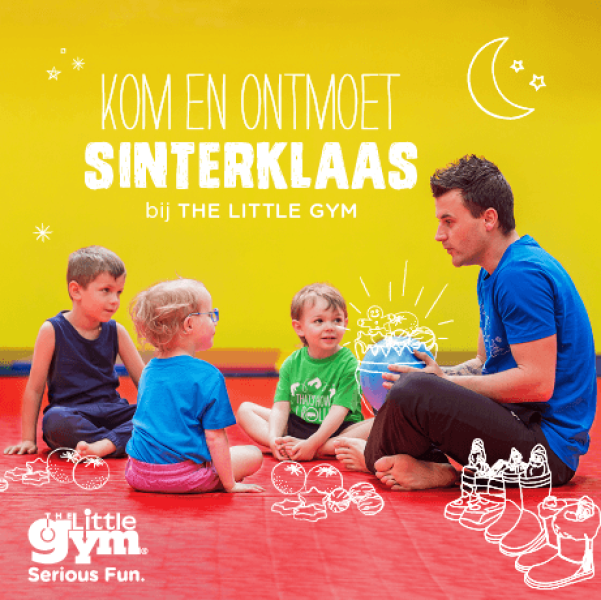 Sinterklaas bij The Little Gym Wemmel