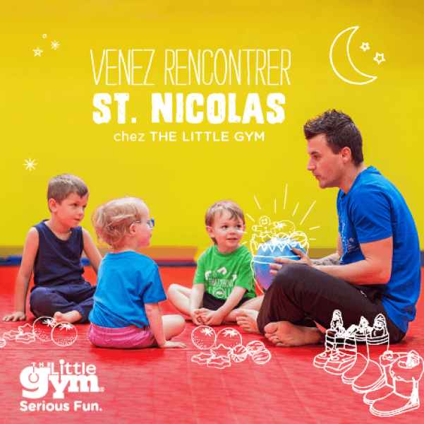 St Nicolas chez The Little Gym Wemmel