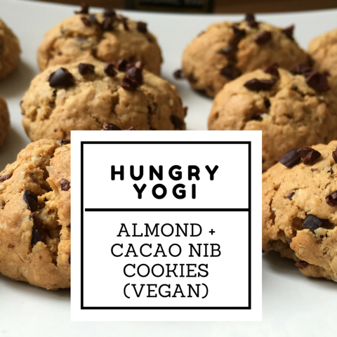 Almond + Cacao Nib Cookies 1