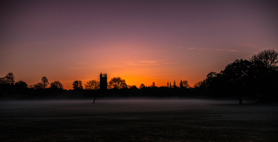 Oxford sunrise