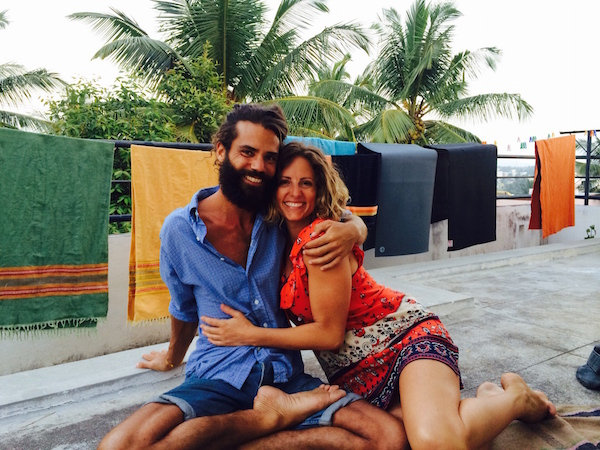 Yoga Eco Retreat Hosts Nadia and Gabriel Stinga Rihani